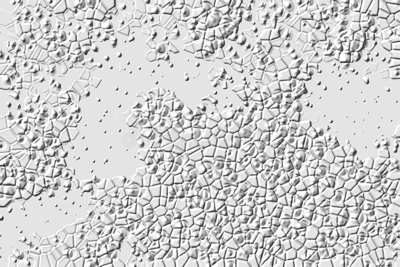 White stone, abstract background and shapes royalty free stock images