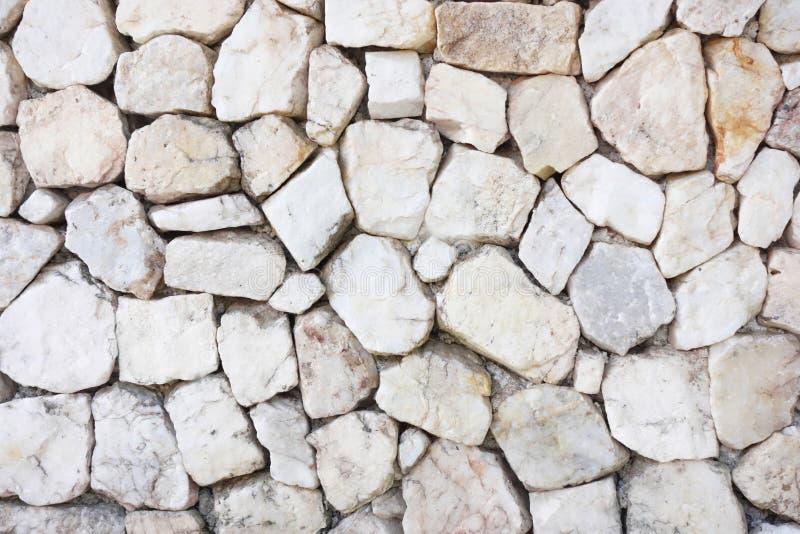 White stone gravel background texture. stock photo