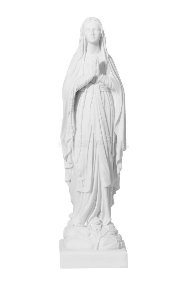 Free White Stone Statue Of Saint Mary Stock Photos - 75149203