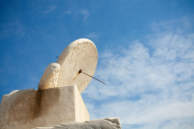 Download White Stone Sundial stock image. Image of hour, imperial - 27157975