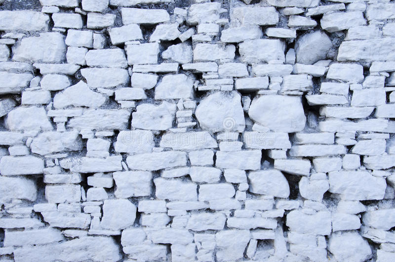 Download White stone wall stock photo. Image of durable, decorative - 26503644