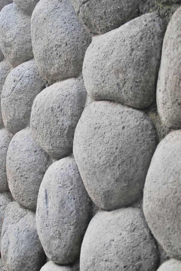 White stone wall potrait mode. White stone wall on my house with potrait mode , rock stock images