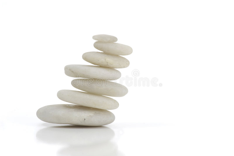 White Stones stock image