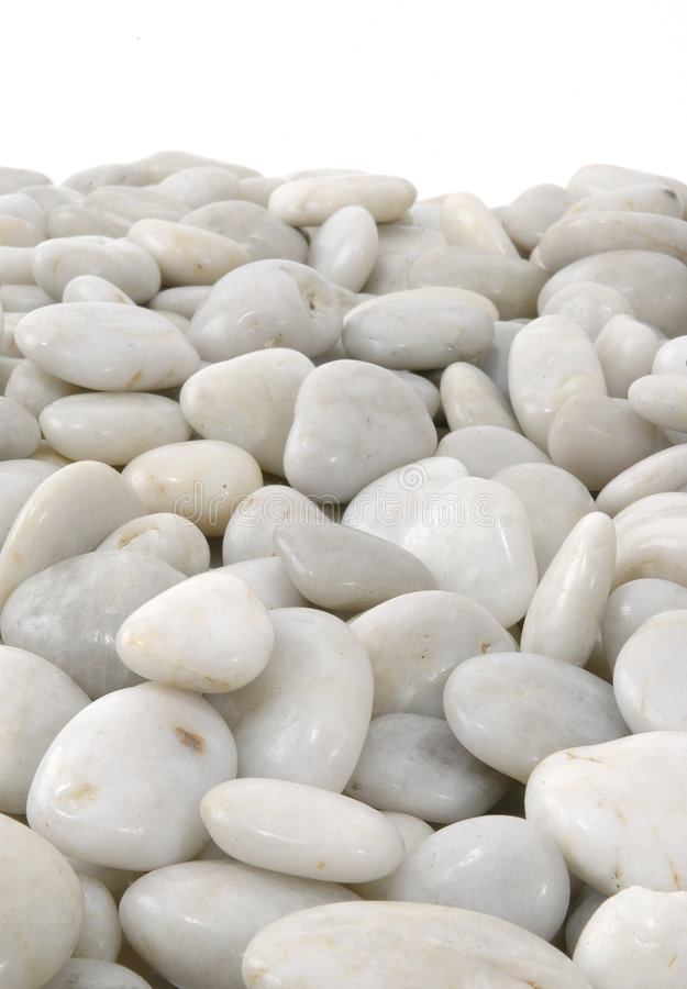 Free White Stones Background Vertical Isolated Stock Photography - 113212