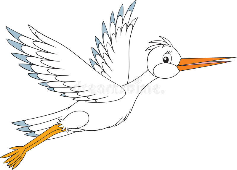 Download White Stork Stock Images - Image: 12428444