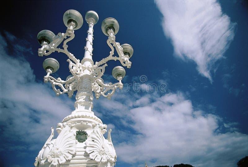 Download White Street Lamp Stock Photo - Image: 2318600