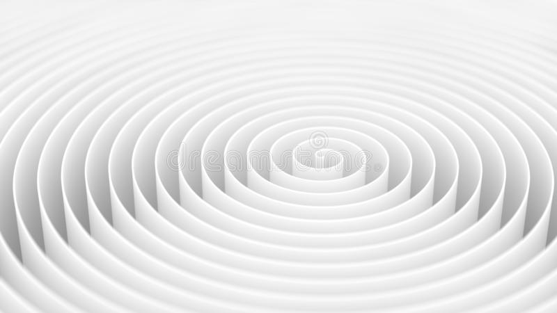 White swirl background. 3d helix wall royalty free stock photos