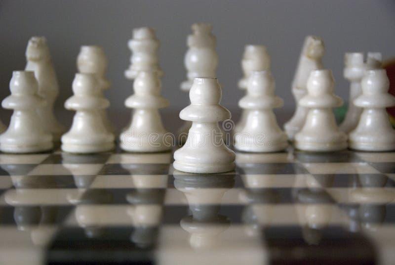 white szachowy obrazy stock