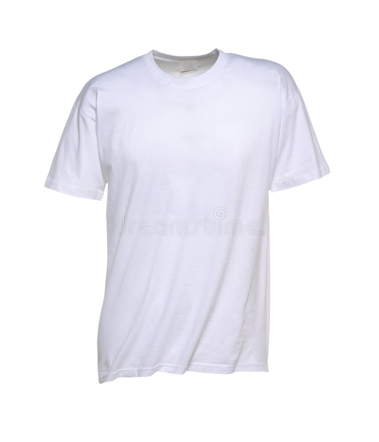 Download White T-Shirt for Men stock image. Image of shopping - 15255723