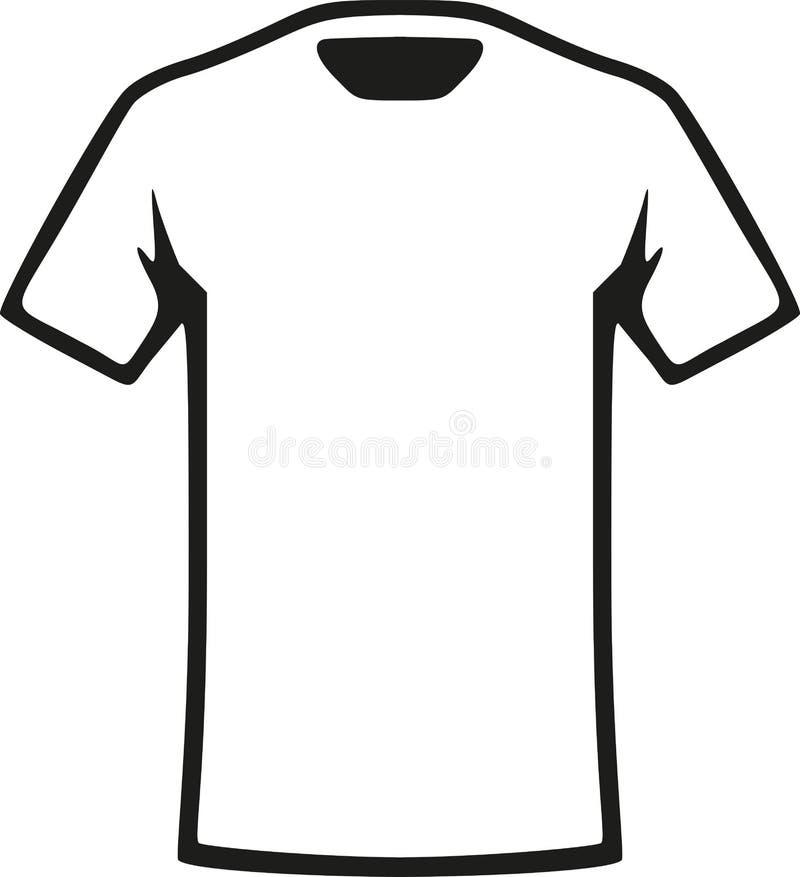 White T-Shirt vector. White T-Shirt clothes fashion vector vector illustration