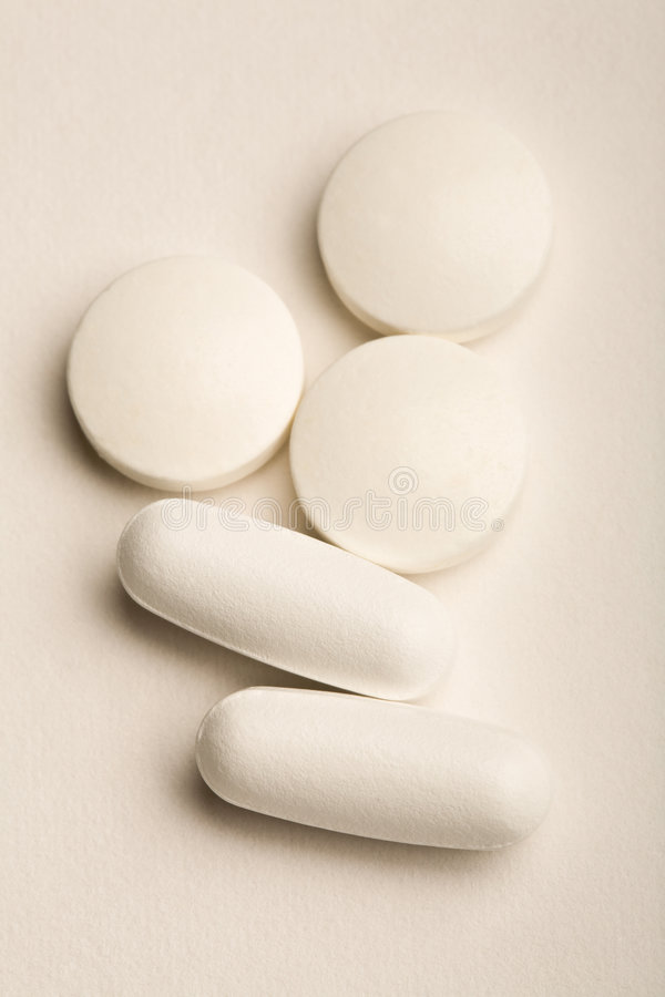 Download White Tablets stock photo. Image of medication, white - 4695102