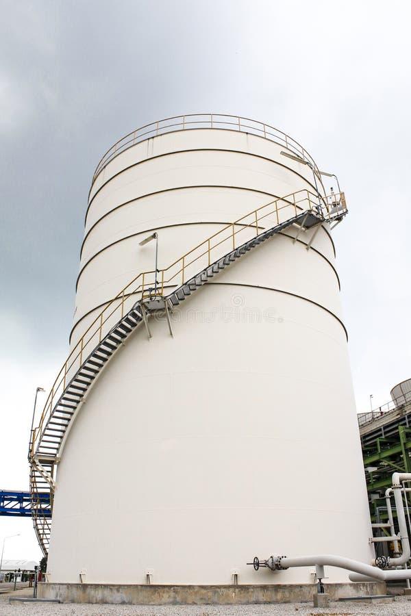 White tank storage