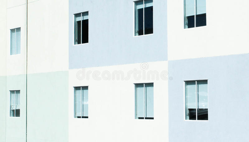 White And Teal Painted Windows Free Public Domain Cc0 Image