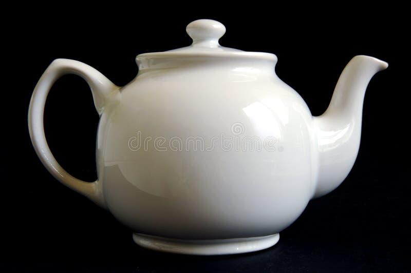 White teapot royalty free stock images