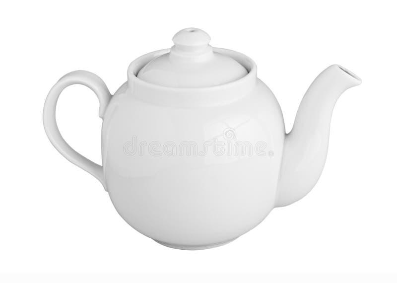 Download White Teapot stock photo. Image of herb, teapot, restaurant - 24123226