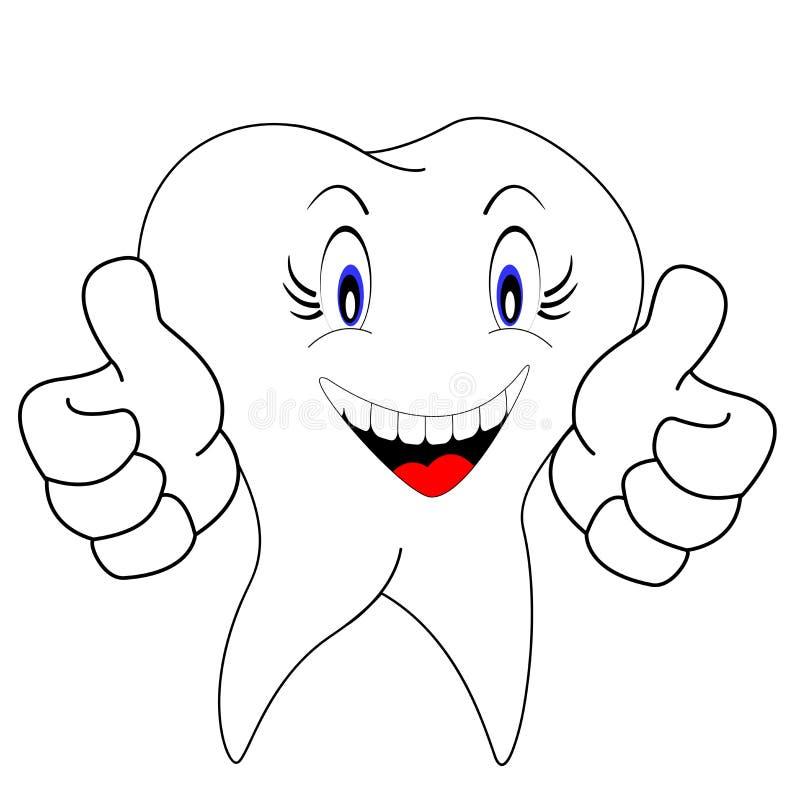 White teeth stock photography