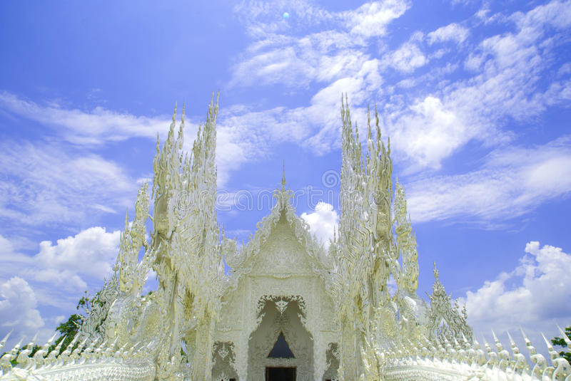 Download White temple stock photo. Image of decor, buddhist, asia - 19692496