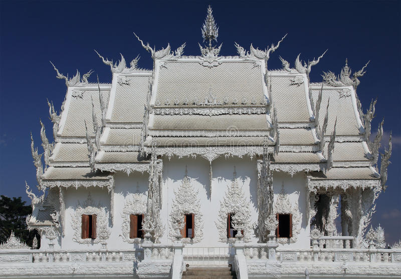 White Temple Thailand Royalty Free Stock Images