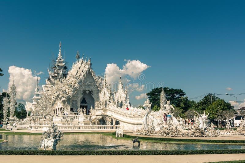 White Temple Wat Rong Khun royalty free stock image