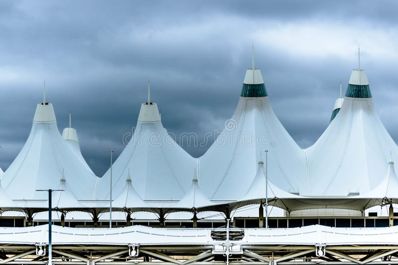 Download White Tent Roof Domes At Denver International Airport Editorial  Stock Photo   Image: 45420828
