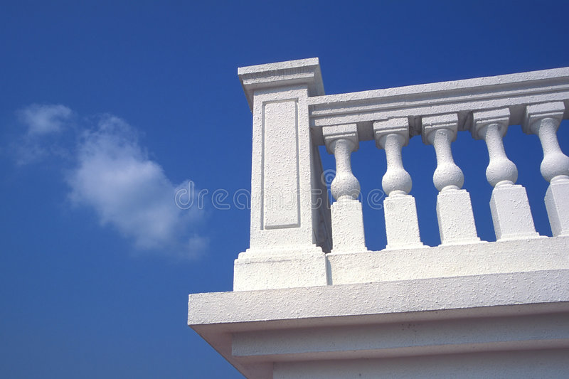 Download White Terrace stock photo. Image of bright, stairs, calm - 4483890