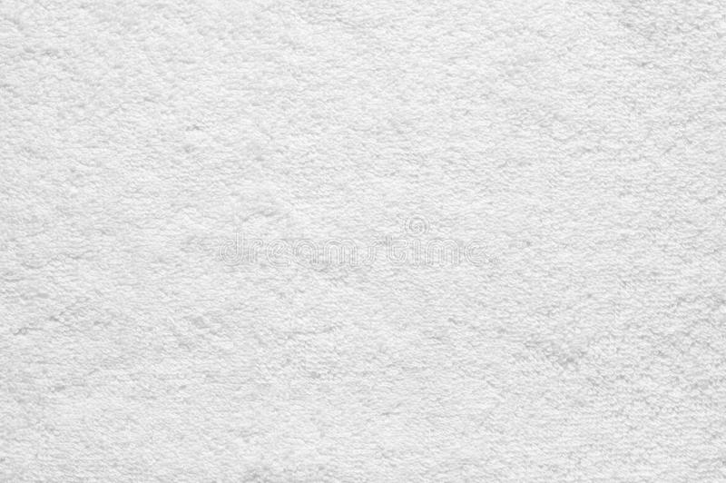 White terry cloth texture. As background royalty free stock photo