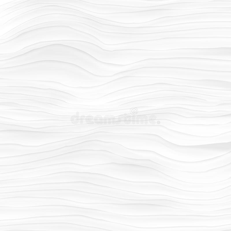 Download White Texture. Abstract Pattern Seamless. Wave Wavy Nature Geome Stock Vector - Illustration of stream, modern: 92145316