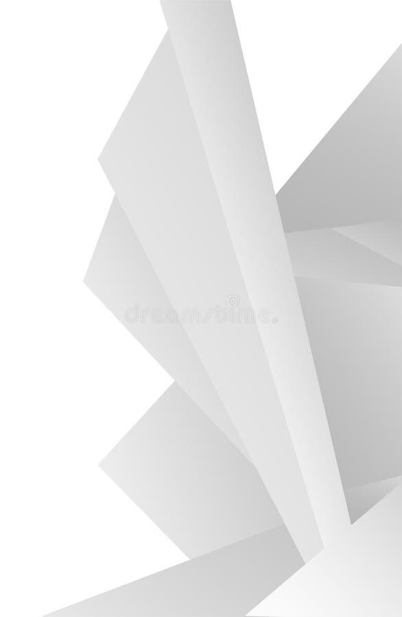 White texture background stock illustration