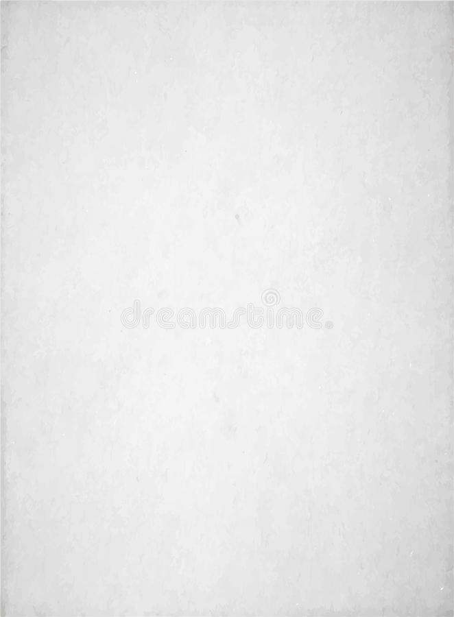 White texture background. Vector white texture background, light paper backdrop, abstract grunge pattern in light trendy colors vector illustration