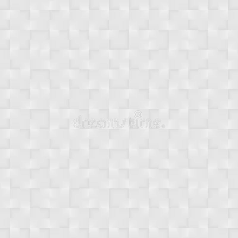 White texture - 3d seamless pattern. White decorative geometric texture - seamless vector background vector illustration