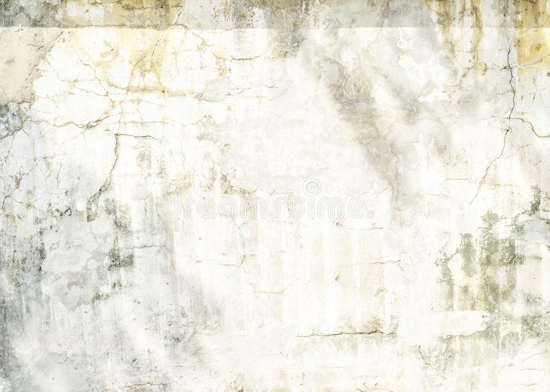 White texture of old concrete wall for background royalty free stock image