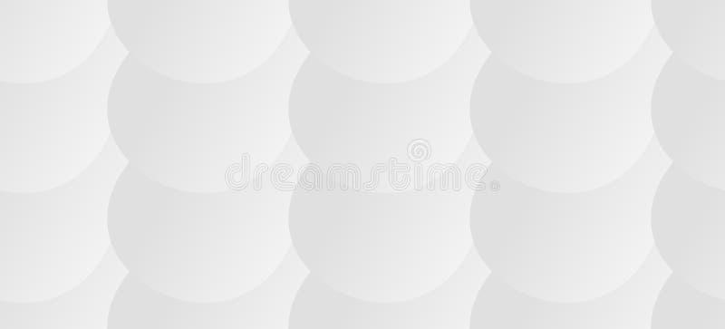 White texture, seamless. White geometric texture stock illustration