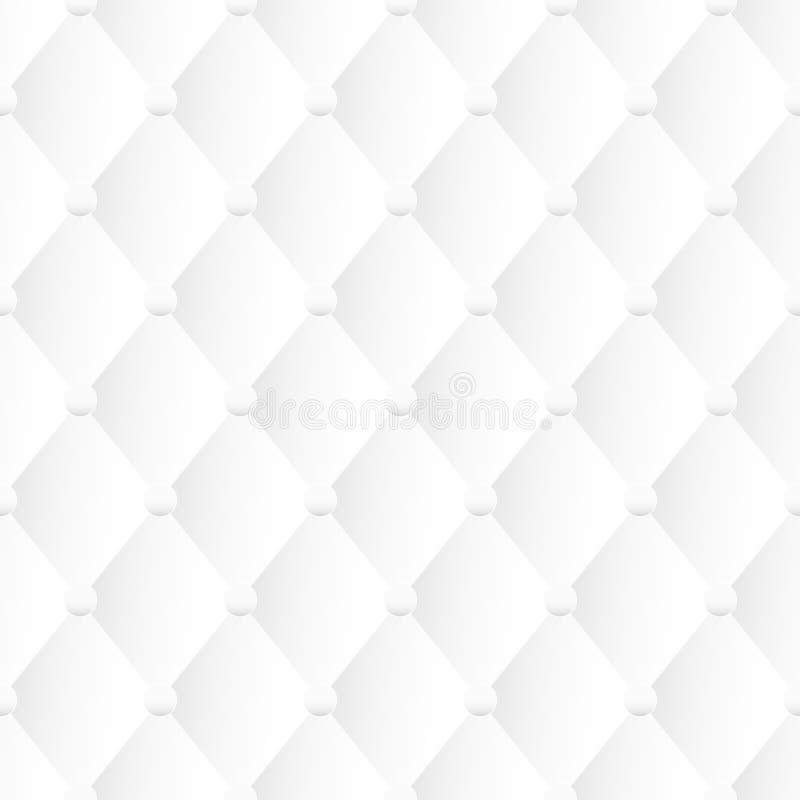 White texture, seamless vector background. White upholstery texture, decorative seamless vector background vector illustration