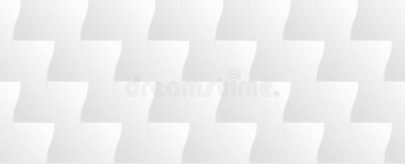 White texture, seamless. White geometric texture royalty free illustration