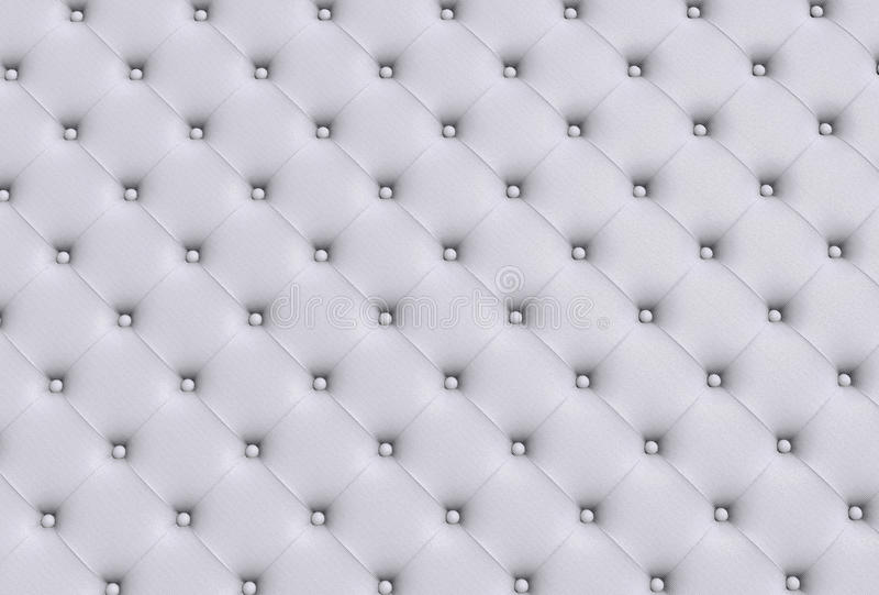 The White Texture Of The Skin Quilted Sofa Stock Photo Image 44212863