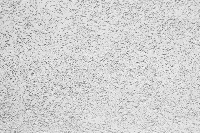 White textured plaster as background or graphic stock photography