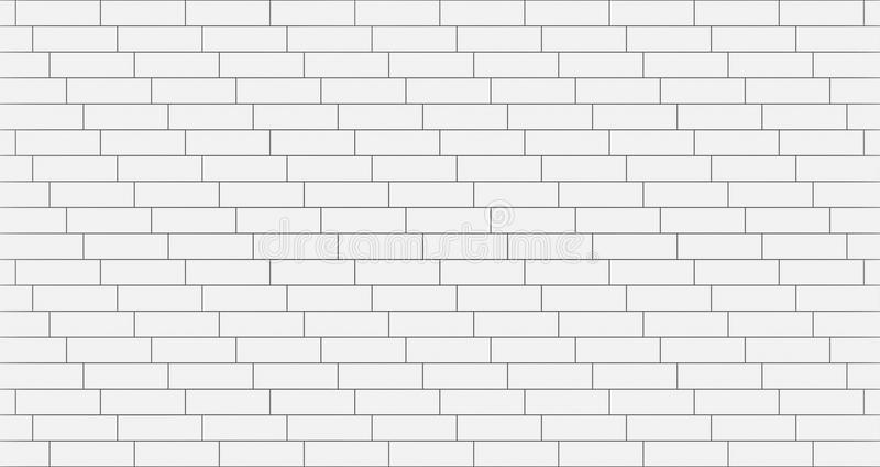 White timber wood slats pattern. seamless background, 3d. Illustration vector illustration
