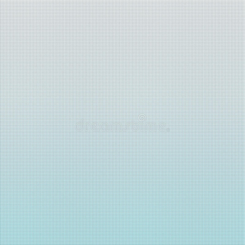 White to blue abstract gradient. Cell background stock illustration