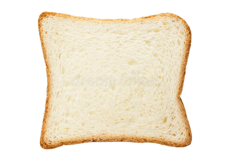 White toast bread royalty free stock photography