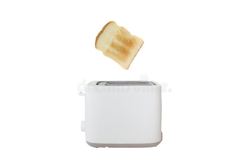 White toaster stock photo