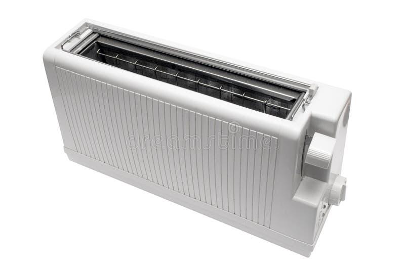 White Toaster w/ Path royalty free stock image