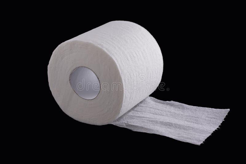 White Toilet Paper Stock Image