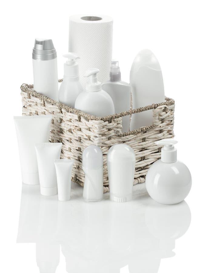 Free White Toiletries Stock Photography - 17361592