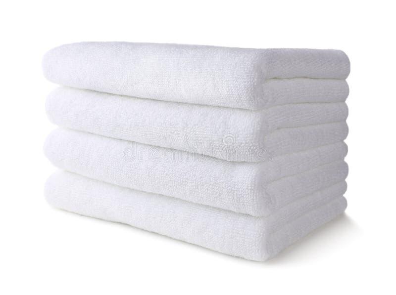 White towel royalty free stock image
