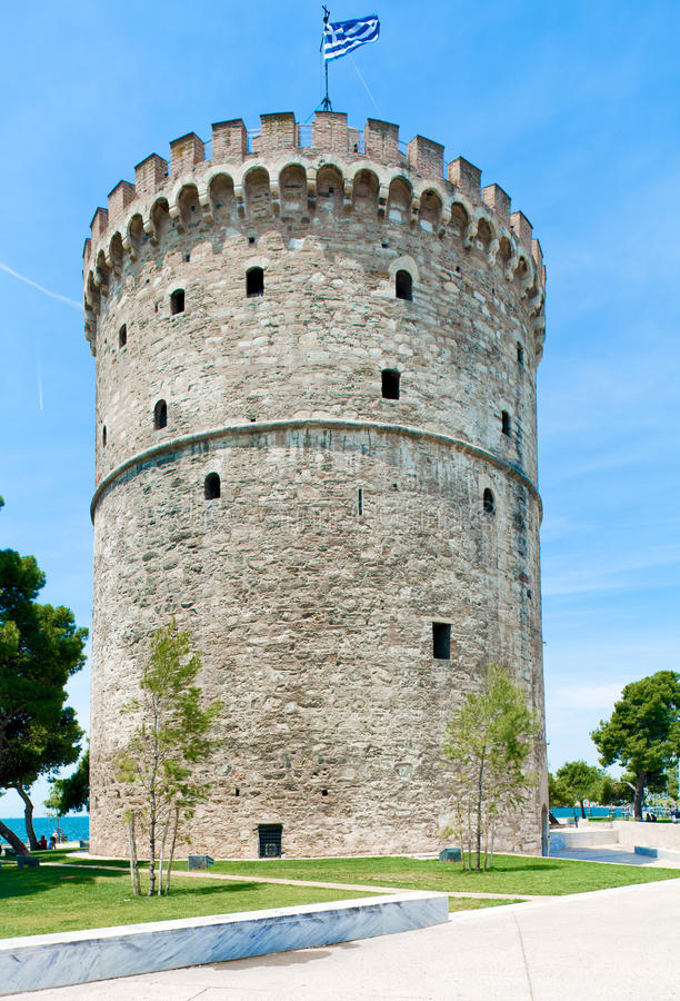White Tower stock image