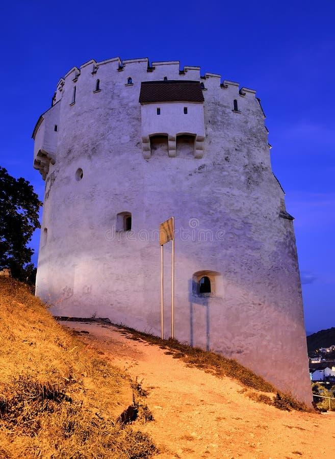 White Tower, Brasov, Romania royalty free stock image