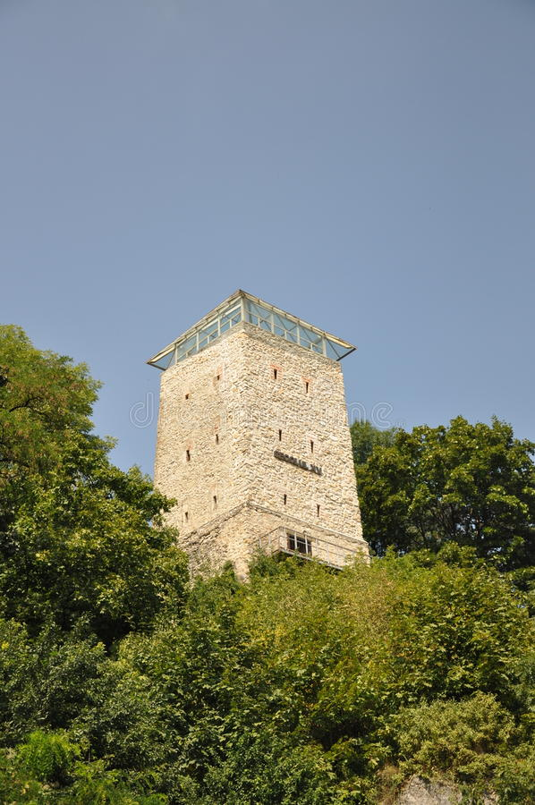 White Tower in Brasov, Romania royalty free stock image