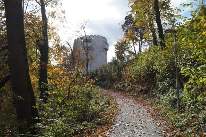 The White Tower from Brasov, Romania royalty free stock photos
