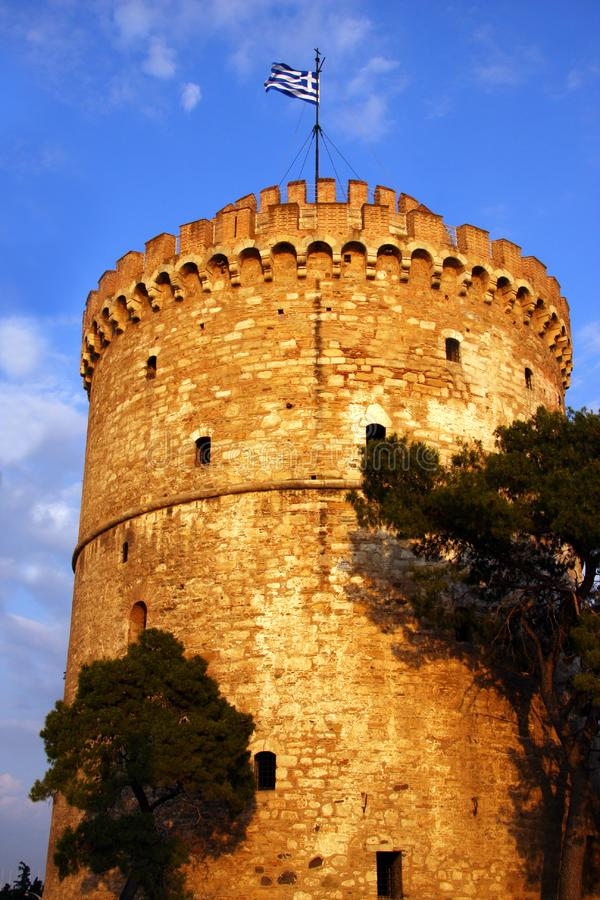 Download White Tower In Thessaloniki Greece Stock Image - Image: 8795787