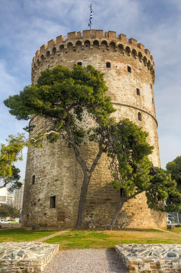 White Tower, Thessaloniki, Macedonia, Greece royalty free stock photo